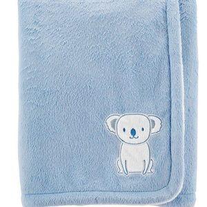 NWOT Carter's Koala Plush Blanket